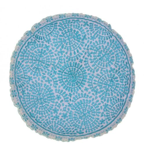 Souk Embroidered Cushions Round
