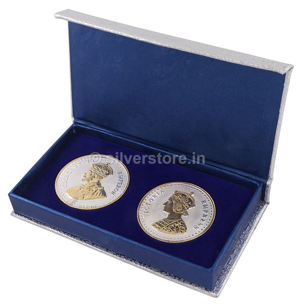 Queen Victoria And King George Coins 100 Grams
