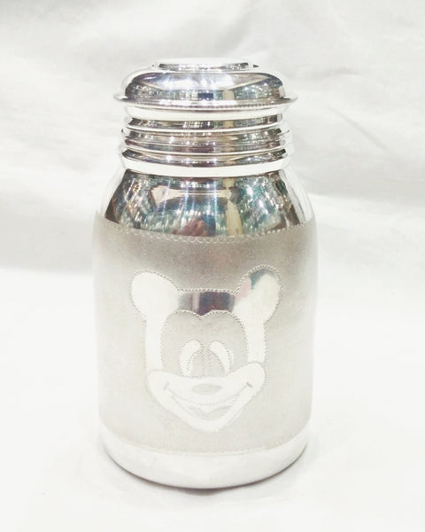 Pure Silver Feeding bottle for Baby - Bis Hallmarked