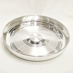 Buy Pure Silver Dinner Set Amp Plate Online India Silver