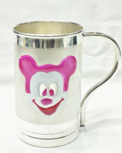 Pure Silver Mickey Coffee Mugs for Kids