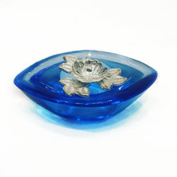Decorative Pure Silver Diya - Diwali Gift