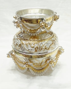 Decorative Silver Lota / Kalash