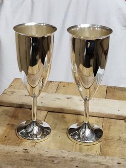 Pure Silver Wine Glass - 925 Bis Hallmarked (pack of 2pc)
