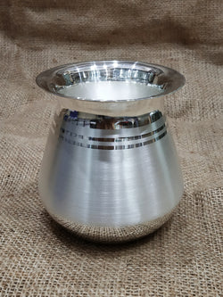 Pure Silver Lota with 990 BIS Hallmark