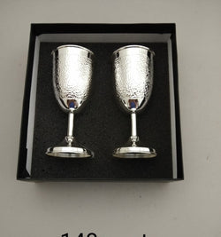 Pure Silver Wine Glass - 925 Silver (pack of 2pc)