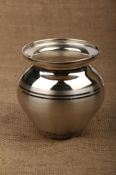 Pure Silver Lota - Kalash With 990 BIS Hallmark