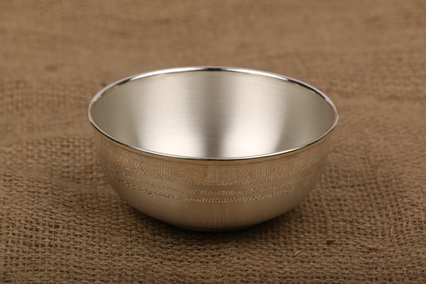 Silver Bowl with 990 BIS Hallmark