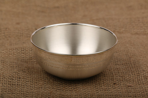 Pure Silver Bowl with BIS Hallmark