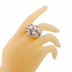 925 Latin Flower Designer Ring