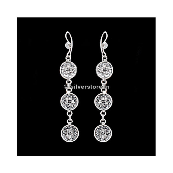 925 Antique Silver Earring