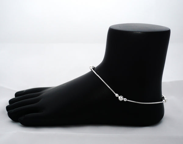 Pure silver Anklet - 925 silver