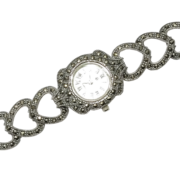 Buy 925 Pure Silver Wrist Watch For Women Ladies At Best Price Online Silverstore In