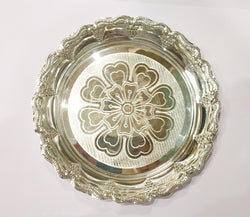 "Silver plate - 925 silver - 6"" Inches diameter"