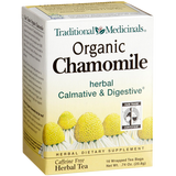 Traditional Medicinals Organic Fair Trade Certified Chamomile Herbal Tea