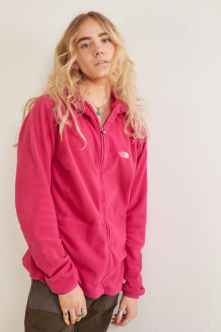 Vintage 90's Collection The North Face Zip-Up Fleece