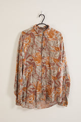 Vintage Party Patterned Shirt