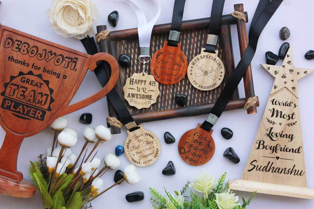 Introducing Wooden Medals, Awards and Trophies