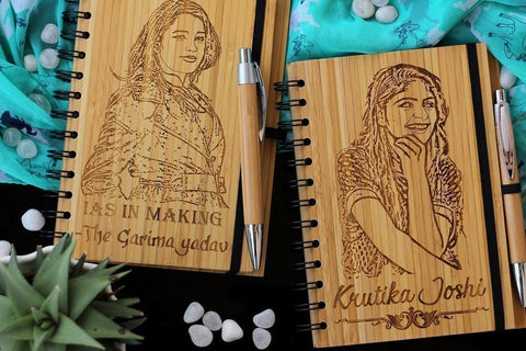 Carve your favourite photos on wood with Woodgeek Store
