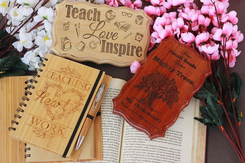 Thank Your Teacher With Personalised Teacher Appreciation Gifts