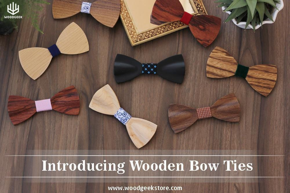 Vintage Inspired Wooden Bow Ties For Men & Women, Get the
