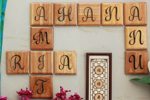 Introducing Wooden Crossword Wall Art!