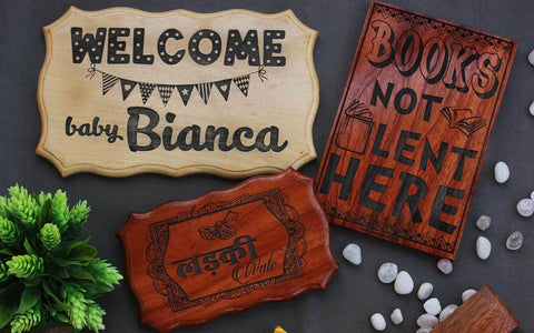 Home Decor: Fun, Inspirational Wood Signs For Your Home & Office!