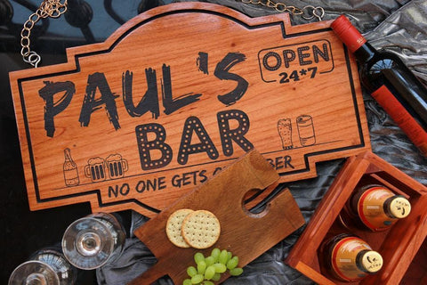 Wooden Bar Accessories For The Alcohol Connoisseur