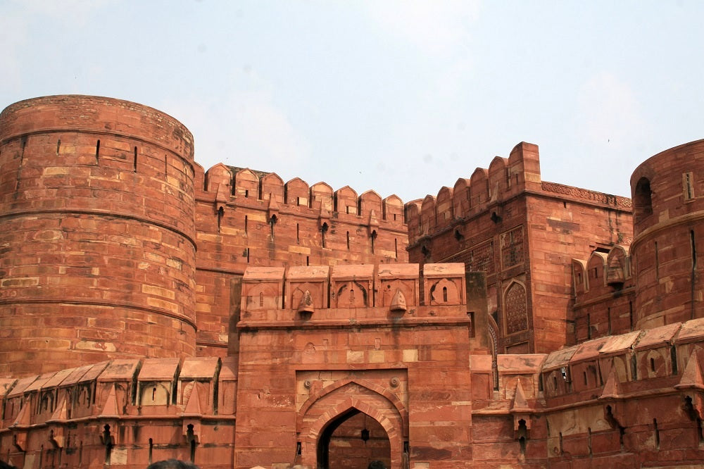 Agra Fort - India's Golden Triangle Trip by Woodgeek Store