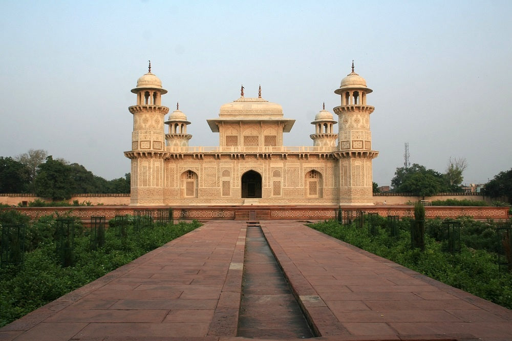 omb of Itimad-Ud-Daulah, also known as Baby Taj - India's Golden Triangle Trip by Woodgeek Store