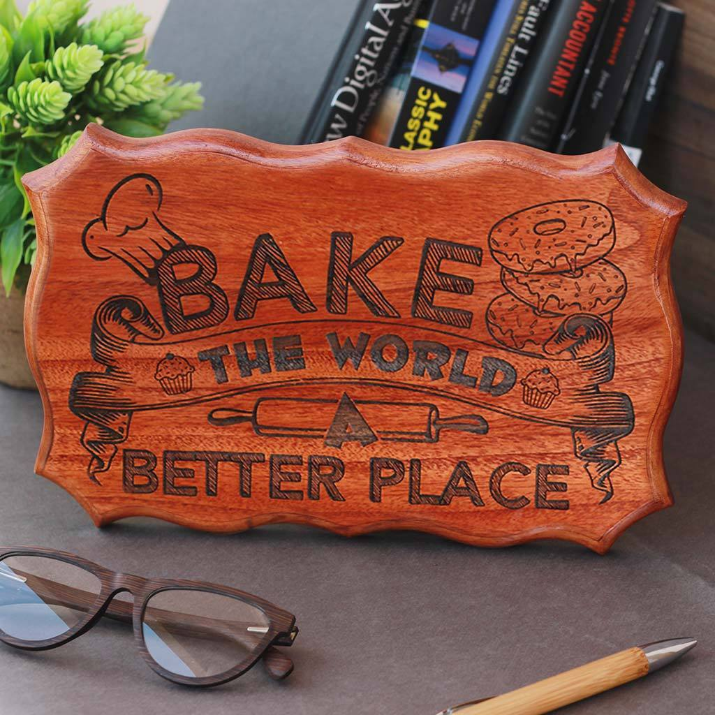 Unique Wood Sign - Wooden Plaques - Wood Carved Signs - Rustic Wood Signs - Woodgeek - Woodgeekstore