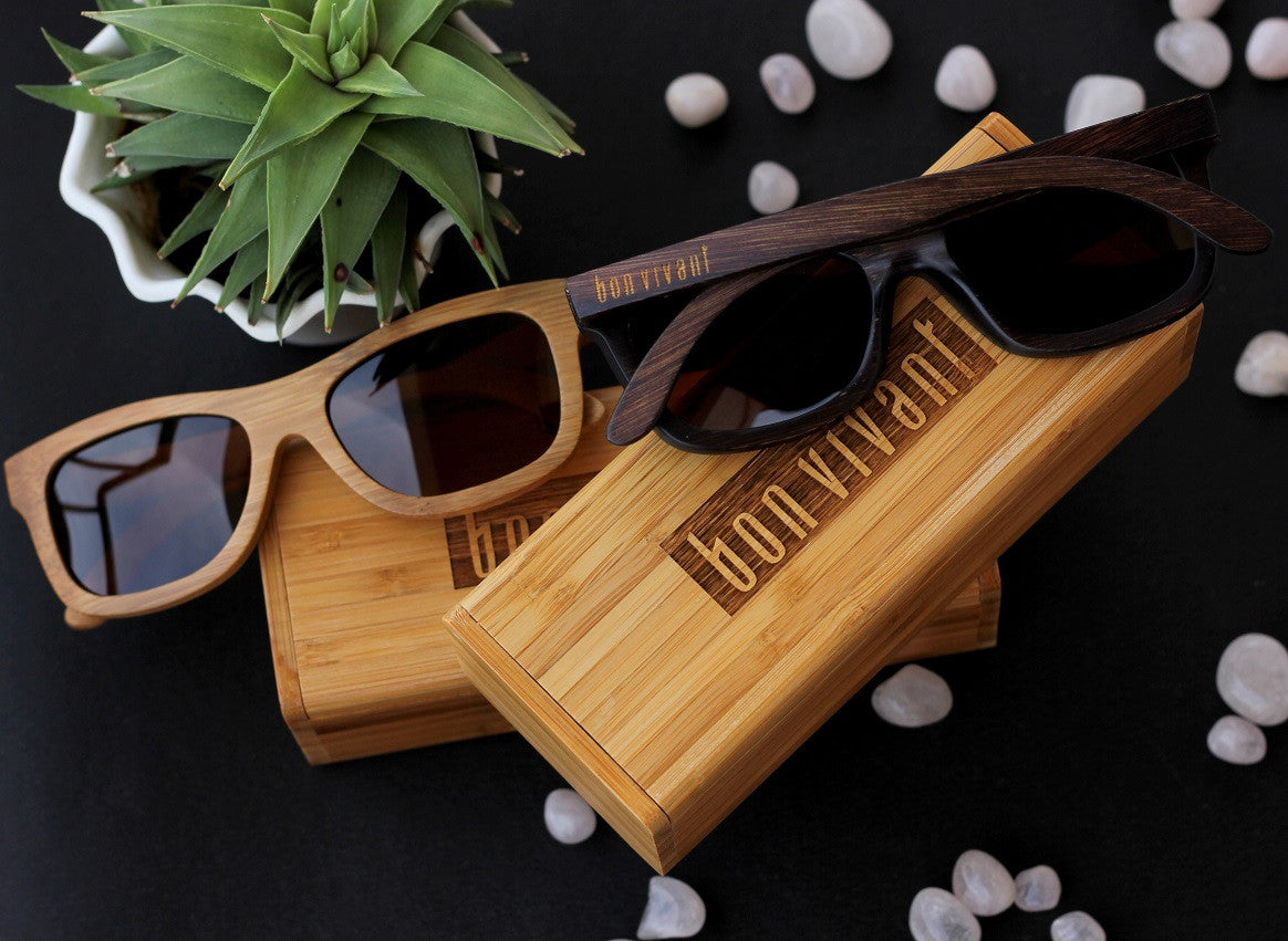 Corporate Gifts - Personalized Wooden Sunglasses - Personalized Wooden Notebooks - Promotional Gifts - Woodgeek Store