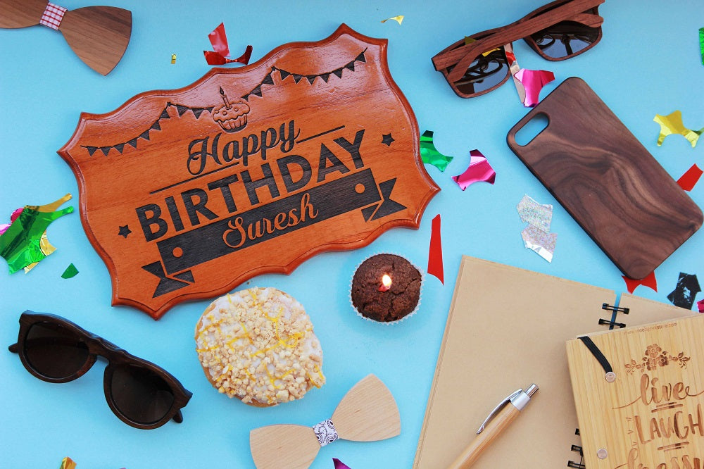Happy Birthday Wood Sign The Best Gifts For Friends