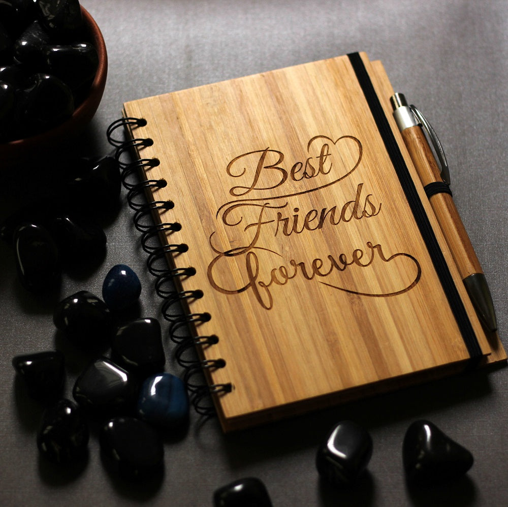 Best F.R.I.E.N.D.S forever notebook- Birthday gift for your best friend - Gifts for Bff - Woodgeek Store
