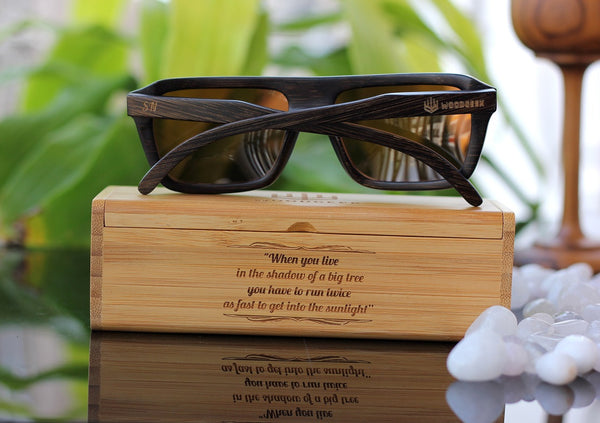 Buy bamboo wood sunglasses personalized to your liking - Woodgeek Store