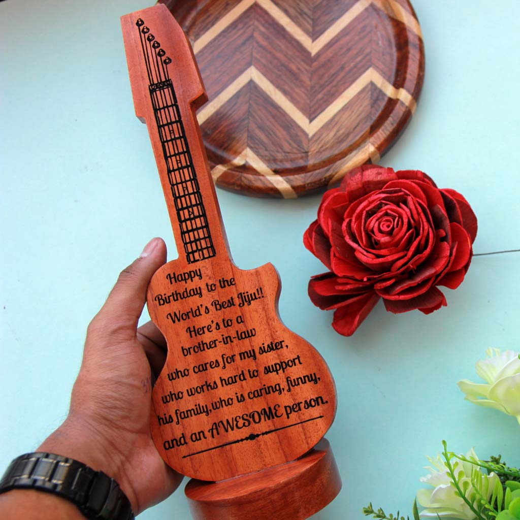 Gifts For Brother-In-Law. This Wooden Plaque Engraved With A Birthday Message Is The Best Birthday Gift For Brother. Looking for gifts for brother? This Birthday Greetings Engraved On This Wooden Award Plaque Is A Great Personalized Gift.