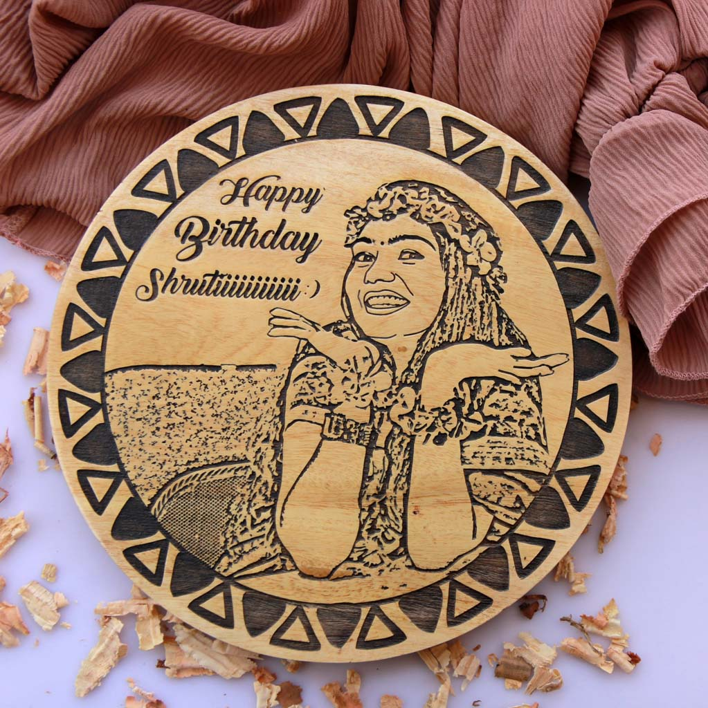 Wood Engraved Photo As The Best Gift For Best Friend. This Personalised Gift Makes Great Birthday Gift Ideas For Best Friend Female. Looking for gifts for friends? This is one of the best birthday gift ideas for best friend.