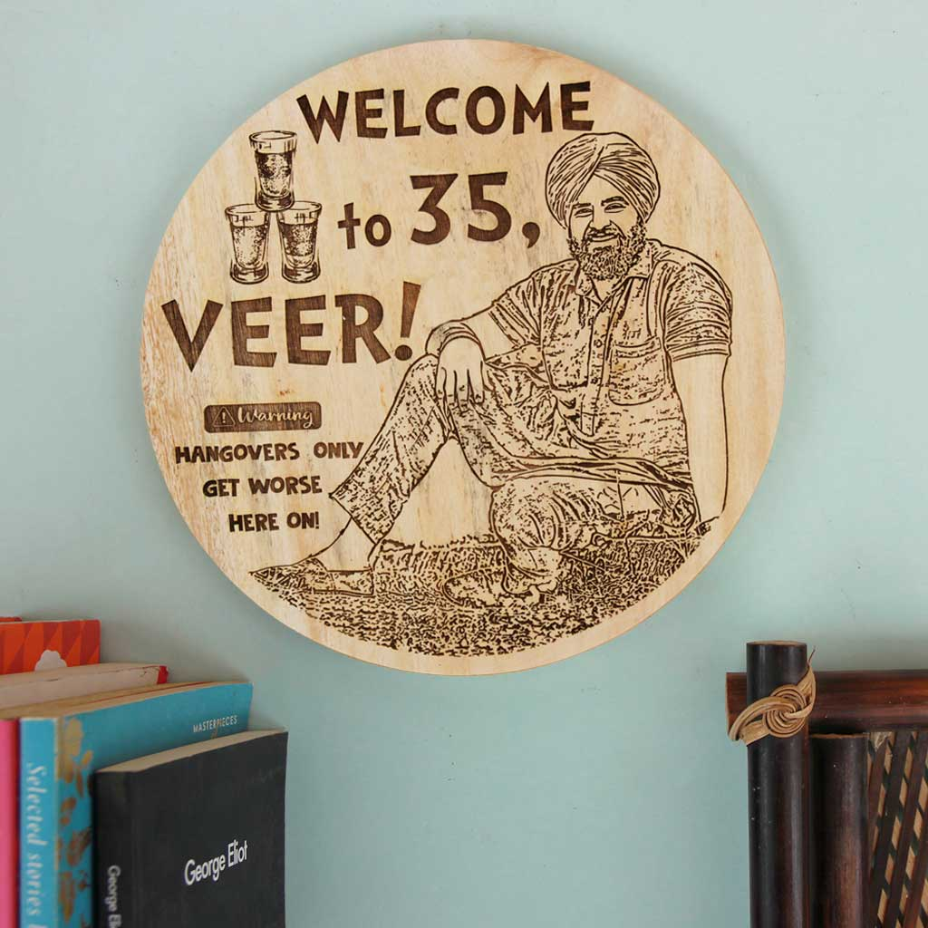 Wood Engraved Photo As The Best Gift For Friends. This Personalised Gift Makes Great Photo Gifts. Looking for gifts for friends? This is one of the most funny gifts for friends.
