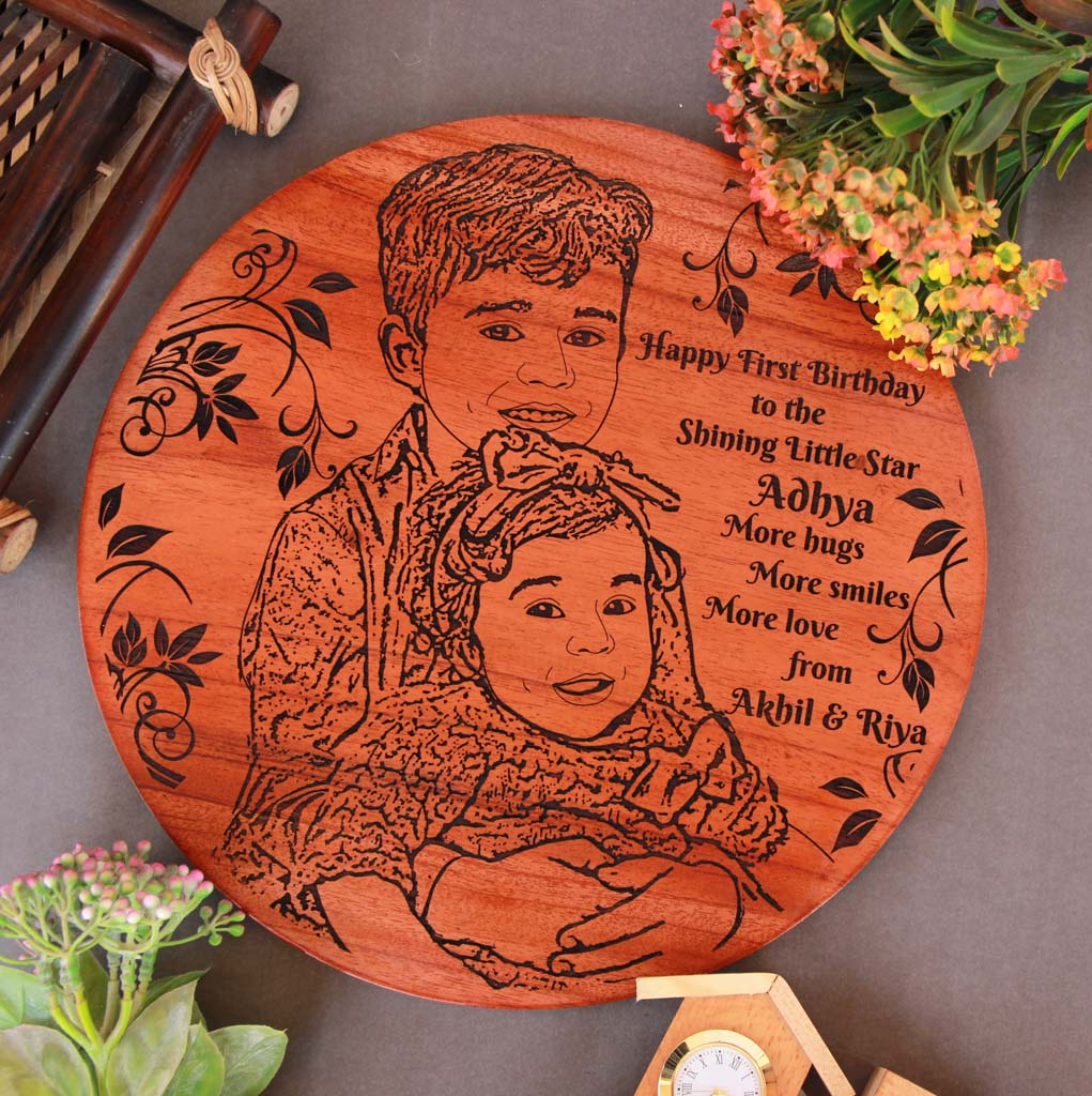 This Wood Engraved Photo with A Birthday Message Is The Best Birthday Gift For Boys and Birthday Gift For Girls. Looking for gifts for kids? This Photo On Wood Is A Great Gift Ideas For Kids..