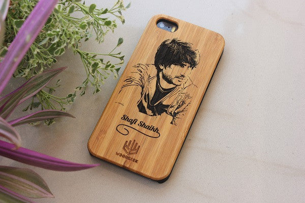 Buy wooden iPhone case with photo - Woodgeek Store