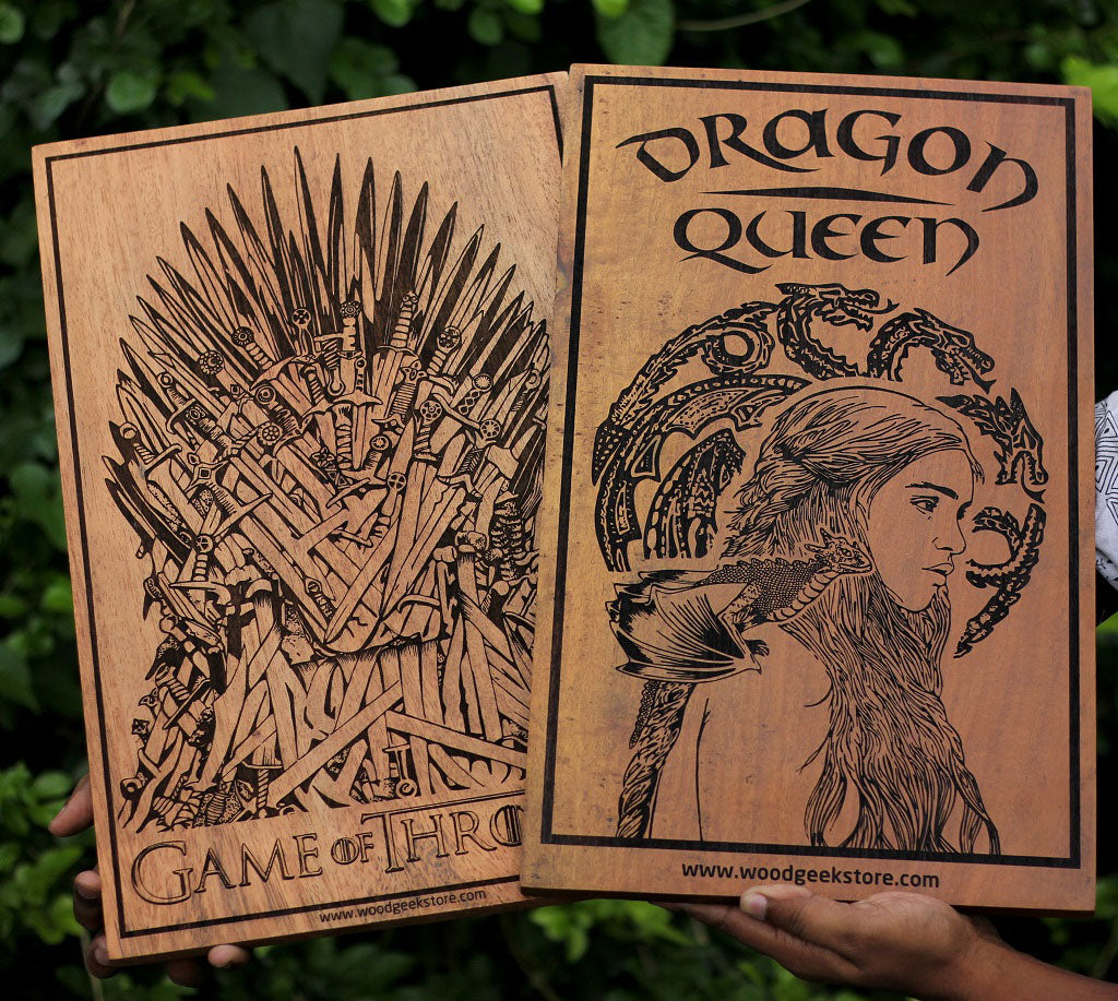 Game of Thrones Posters for your room by Woodgeek Store
