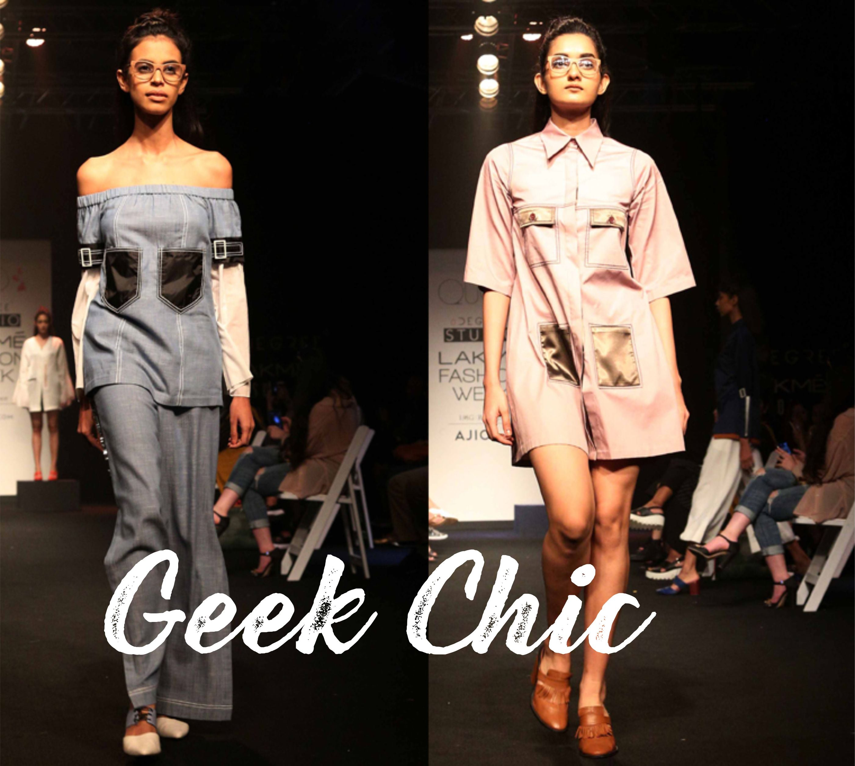 Geek Chic Wooden Glasses At Lakme Fashion Week With Woodgeek Store Woodgeekstore