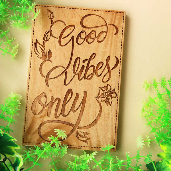 Inspirational Wooden Signs -Unique Wall Wood Signs - Carved Wooden Signs - Wood Art - Customized Wooden Signs - Wood Online - Woodgeek - Woodgeekstore