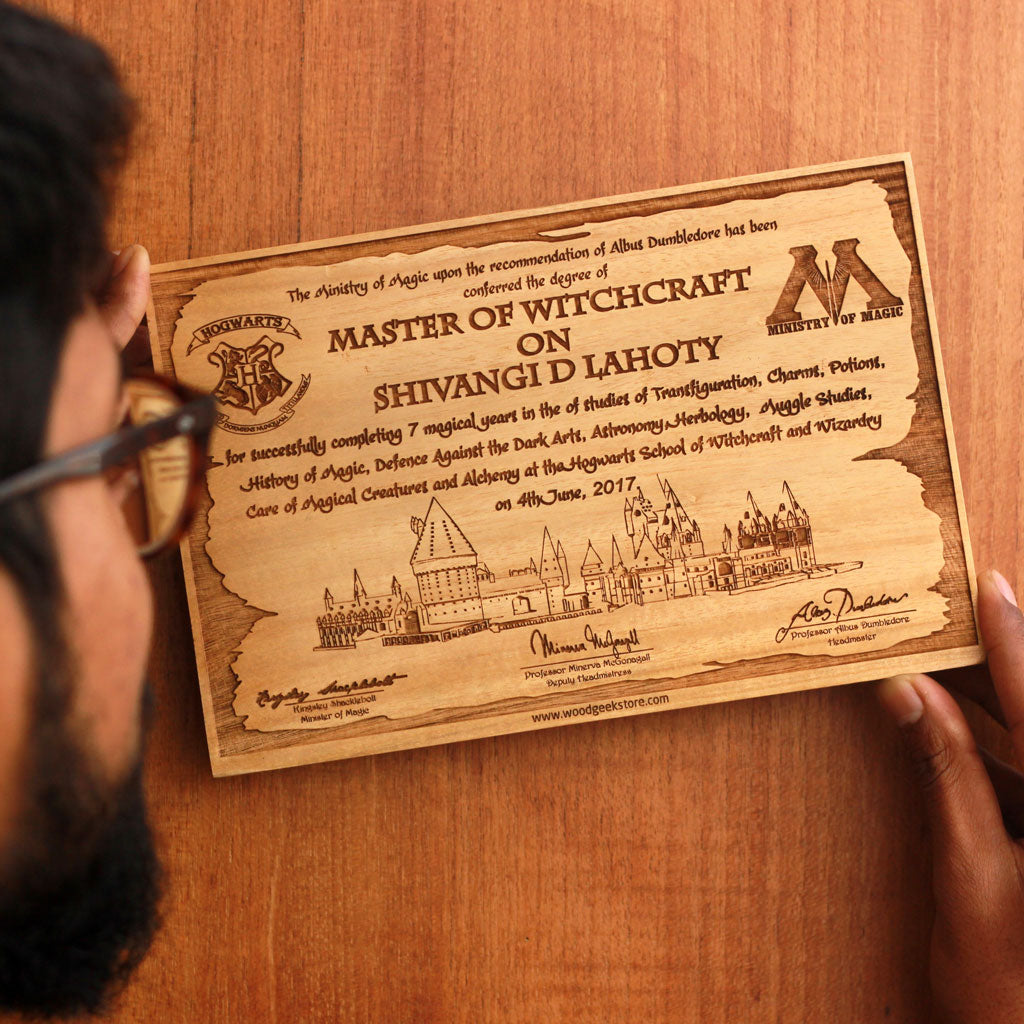 Hang this Harry Potter Hogwarts Acceptance Letter on your wall