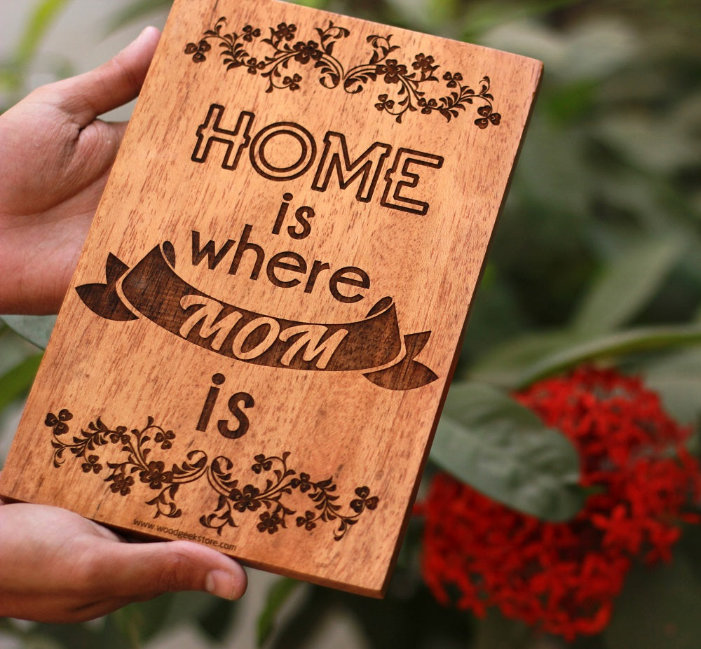 Wooden Sign for Mom - Best Gifts for Mothers by Woodgeek Store