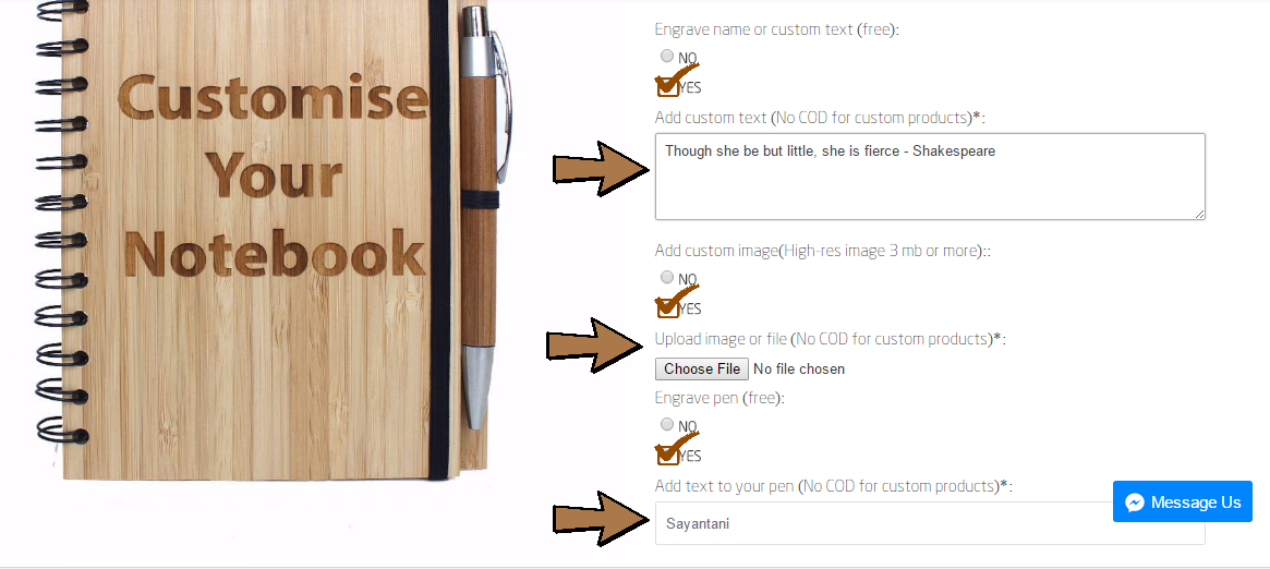 How to customize a bamboo notebook - Woodgeek Store