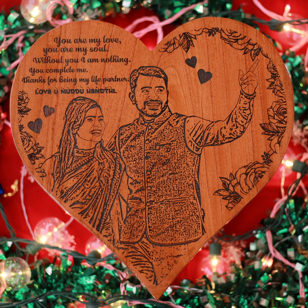 Personalized Couple Poster - Wood Carved Posters - Unique Gifts for her - Gifts for him - Custom Wooden Posters - Personalized Wooden Poster- Gift Ideas for Capricorns - Unique Gifts for Girlfriend - Gift Ideas for a Capricorn - Custom Wooden Certificates - Custom Engraved Gifts - Unique Wood Poster - Engraved Wood Posters Personalized - Woodgeek Store
