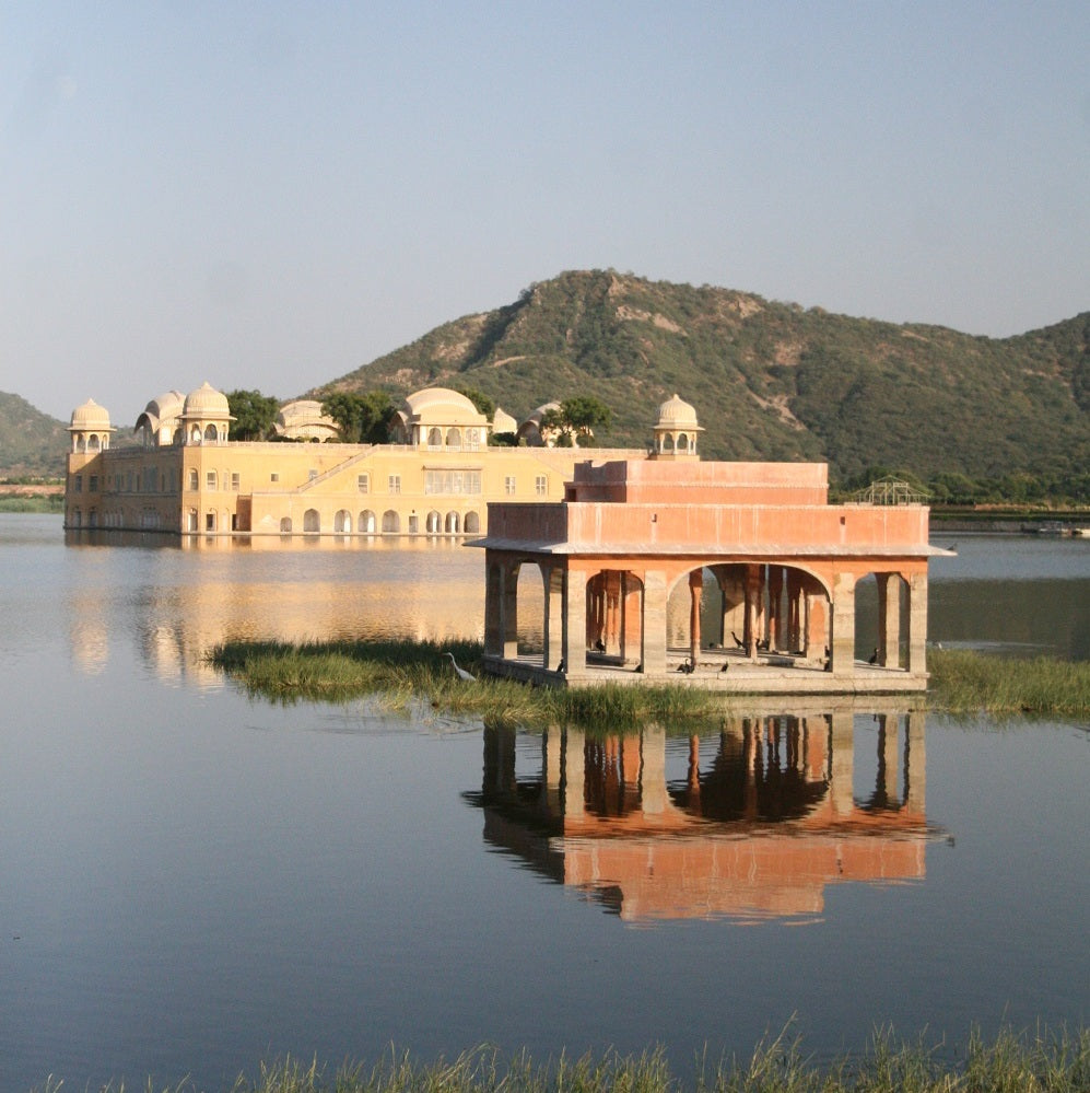 Jal Mahal in Jaipur - India's Golden Triangle Trip by Woodgeek Store