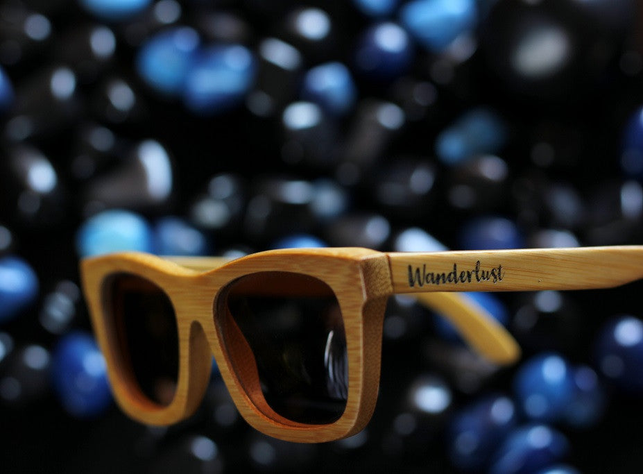 The Journeyman Square Sunglasses - Personalised Wooden Sunglasses - Woodgeek Store