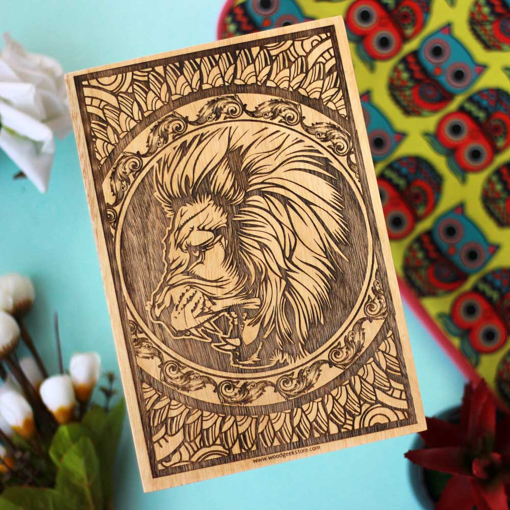 The Majestic Leo - Meet The Lion King Of The Zodiac ! - woodgeekstore